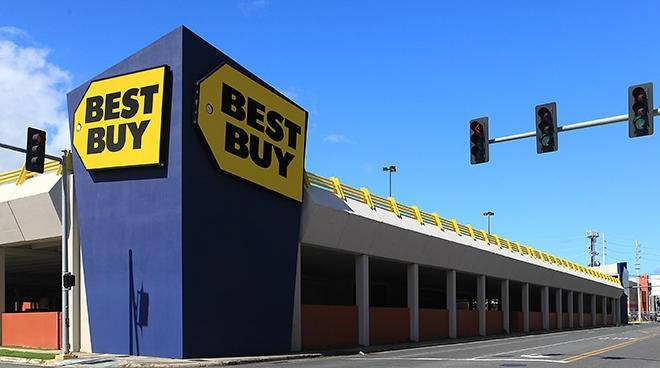Best Buy Parking Deck
